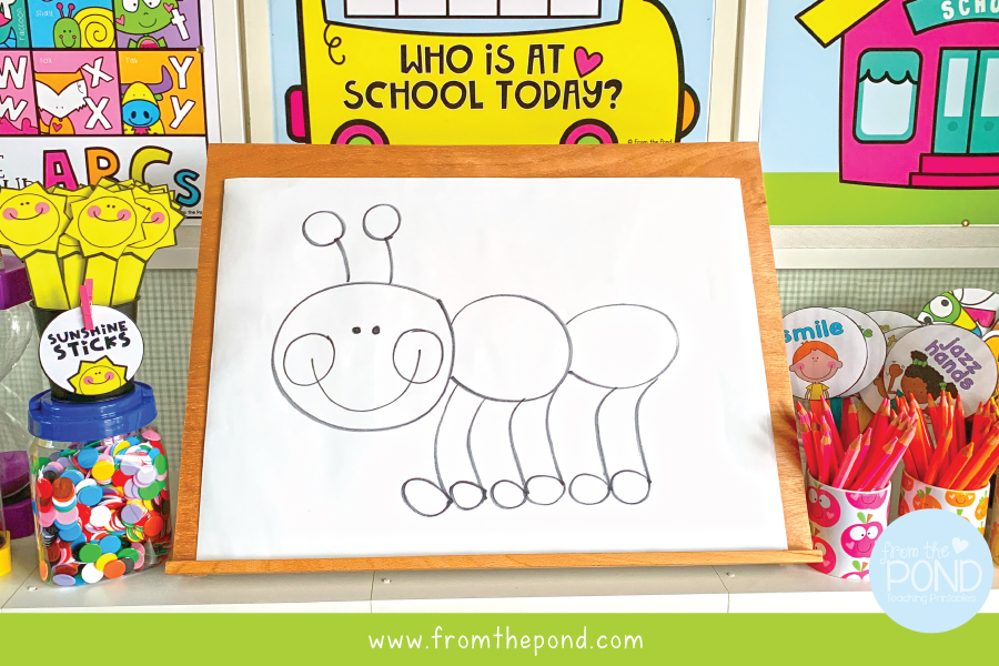 Let's draw an ant
