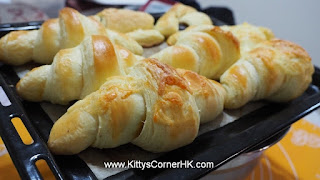 French Croissant 法式牛角 自家烘焙 食譜 home baking recipes