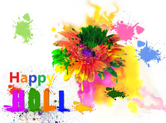 Holi images and shayari