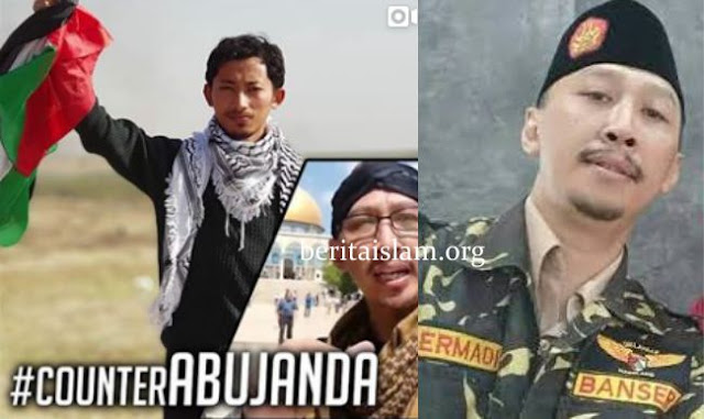 Abu Janda dan Muhammad Husein Gaza
