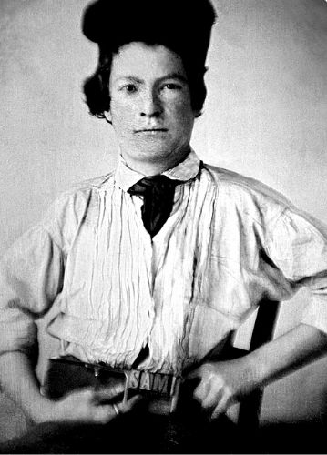 Mark Twain in 1850 at age of 15
