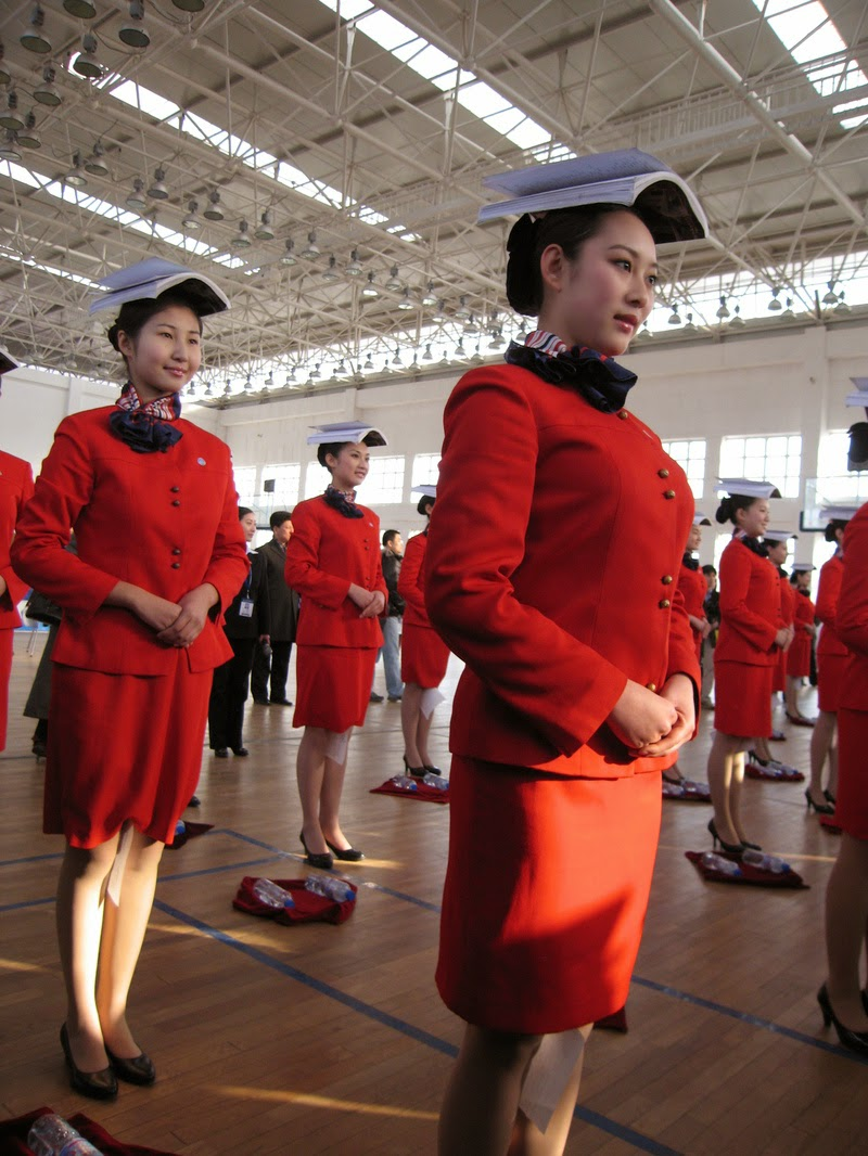 The Flight Attendant Training In China World Stewardess