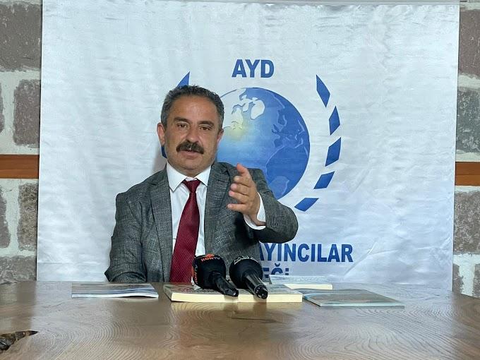 Anadolu Yayıncılar  Derneği Başkanı Sinan Burhan
