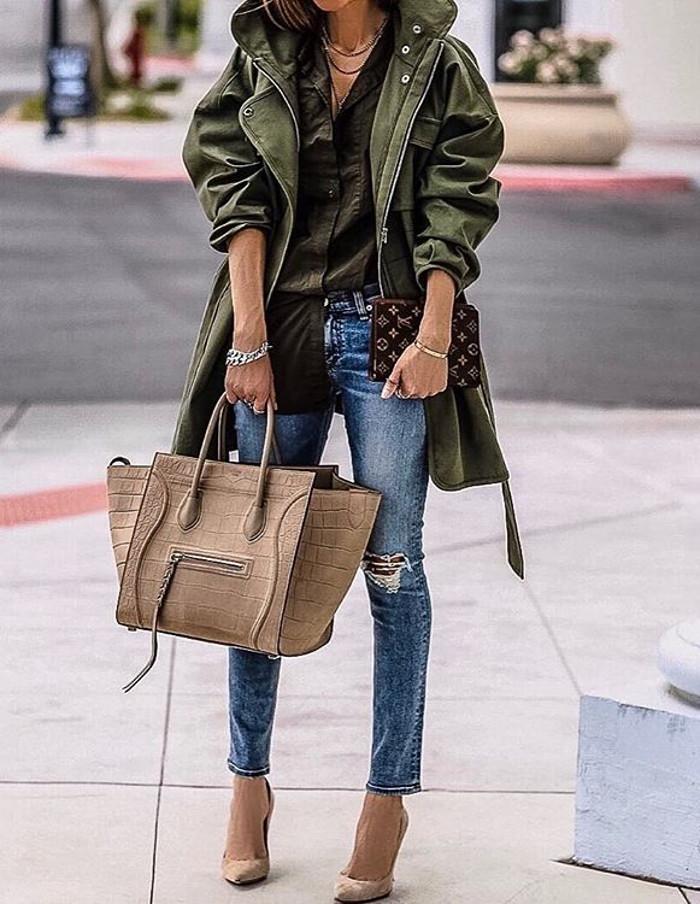 street style + heels
