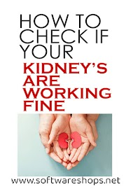 HOW TO CHECK IF YOUR KIDNEYS ARE WORKING FINE