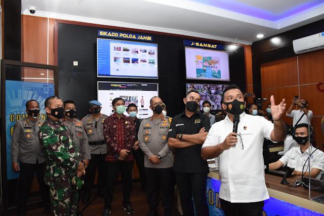 Komisi III DPR Apresiasi 'Asap Digital' Cegah Karhutla di Jambi