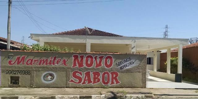 """Marmitex """"Novo Sabor"""" no bairro Caiçara 1 em Registro-SP"""