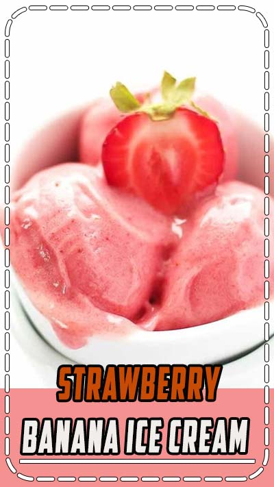 If you are looking for a healthy frozen treat, you HAVE to learn how to make this simple 2 ingredient Strawberry Banana Ice Cream at home. It is clean eating, dairy free, vegan, paleo and requires no added sugar. Kids love this homemade strawberry ice cream and it is a great recipe to get them involved in the process. #icecream #summer #dessert #healthy #vegan #recipe Video | Food Processor | Just Fruit | Soft Serve | Blenders | Simple | Snacks | Summer Desserts