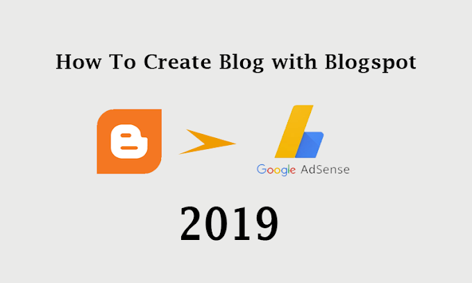 How to Create a new blog site with blogspot in 2019