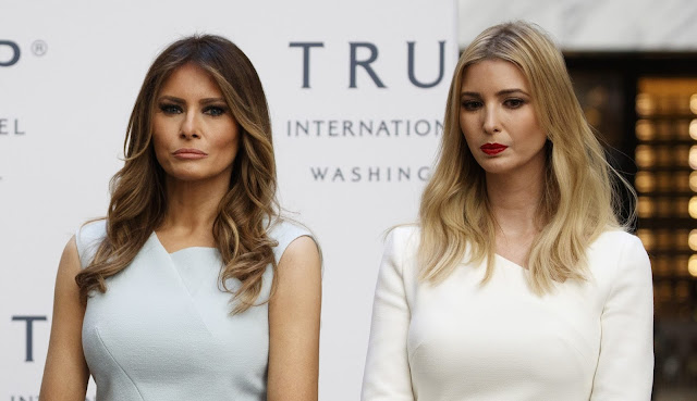 Melania and Ivanka Trump land on '50 most beautiful' list of Washingtonians