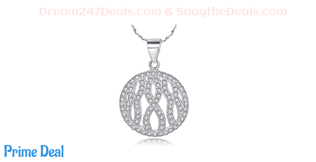 75% off 925 Sterling Silver Necklace with Gift Box