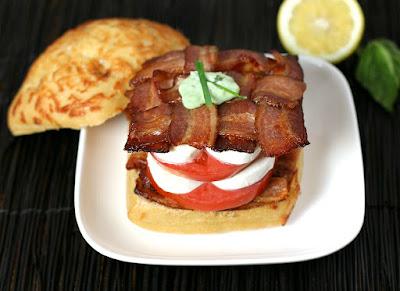 http://www.culinaryenvy.com/best-bacon-caprese-sandwich/