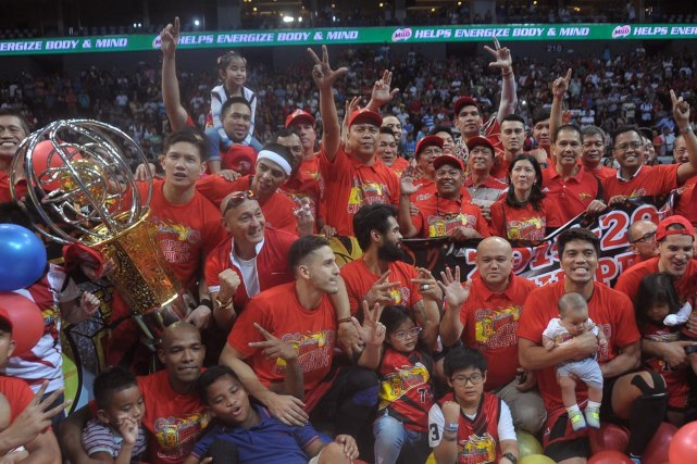 PBA Champion 2016 Smart Bro PBA Philippine Cup winner