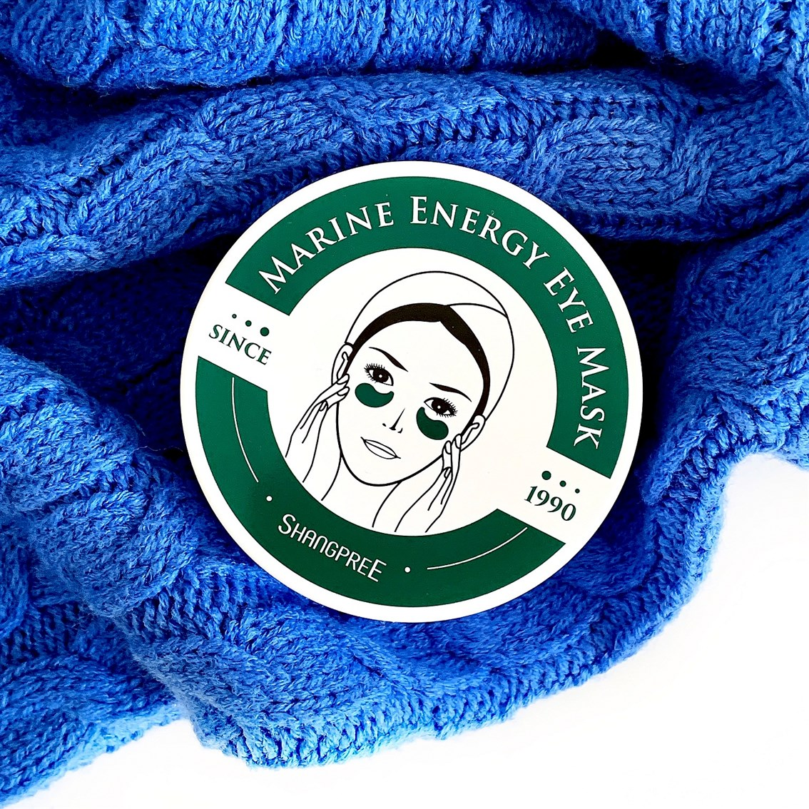 Shangpree Marine Energy Eye Mask opinie blog recenzja