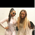 DJ Cuppy Meets Ashanti (Photos)