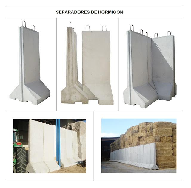 Imagenes separadores de hormigón prefabricados