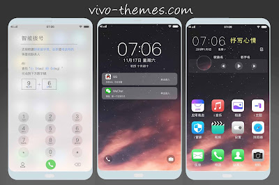 Download Tema Iphone IOS Untuk Vivo Android Terbaru