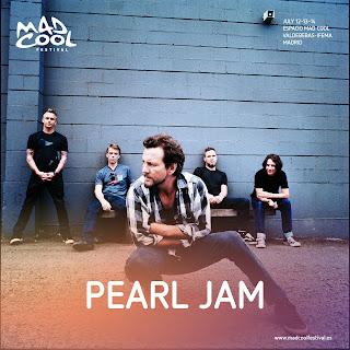 PEARL JAM - MAD COOL FESTIVAL 2018