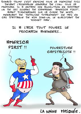Avengers fin du monde.
