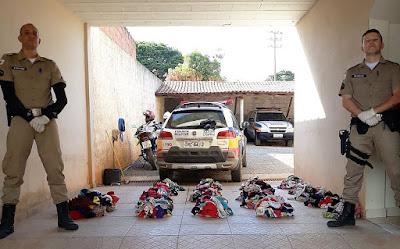 Em Minas Gerais, homem é preso com mais de mil calcinhas roubadas; ele usava uma delas