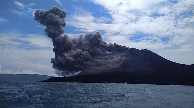 Longsor Bawah Laut di Gunung Anak Krakatau Masih Terus Terjadi