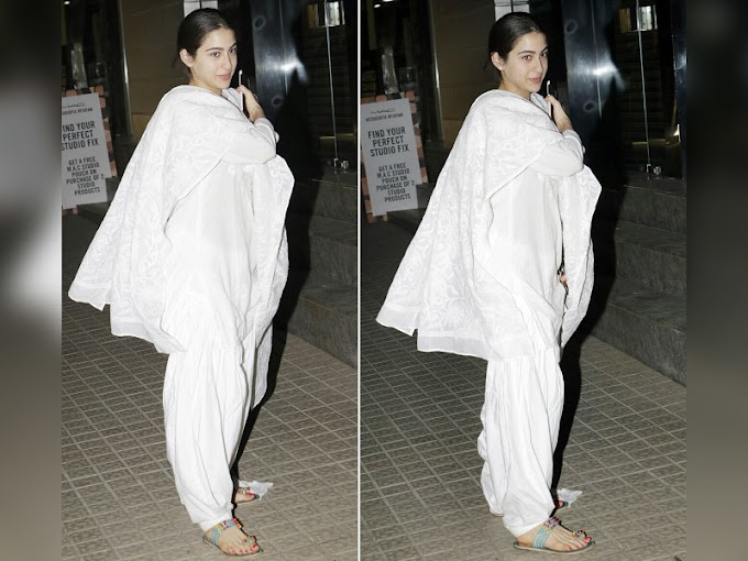 Sara Ali Khan's All-White look is Perfect to Ace Summer Style