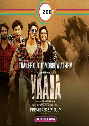 Yaara 2020 Full Hindi Movie Download HDRip 720p