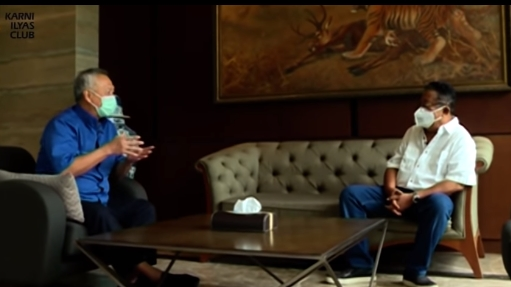 Karni Ilyas Wawancarai Tommy Winata Bahas Rumor Mafia, Bos Narkoba dan Bisnis Haram