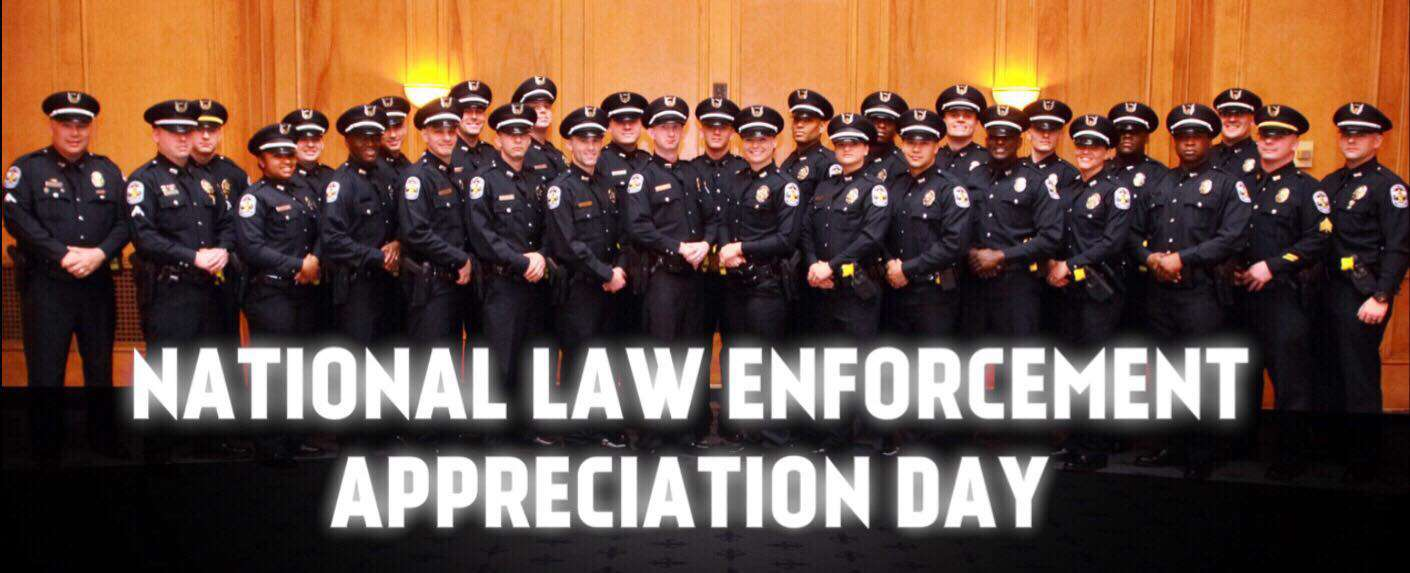 National Law Enforcement Appreciation Day Wishes Photos