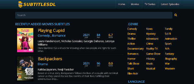 tampilan situs subtitledl.org download subtitle film bahasa indonesia alternatif subscene