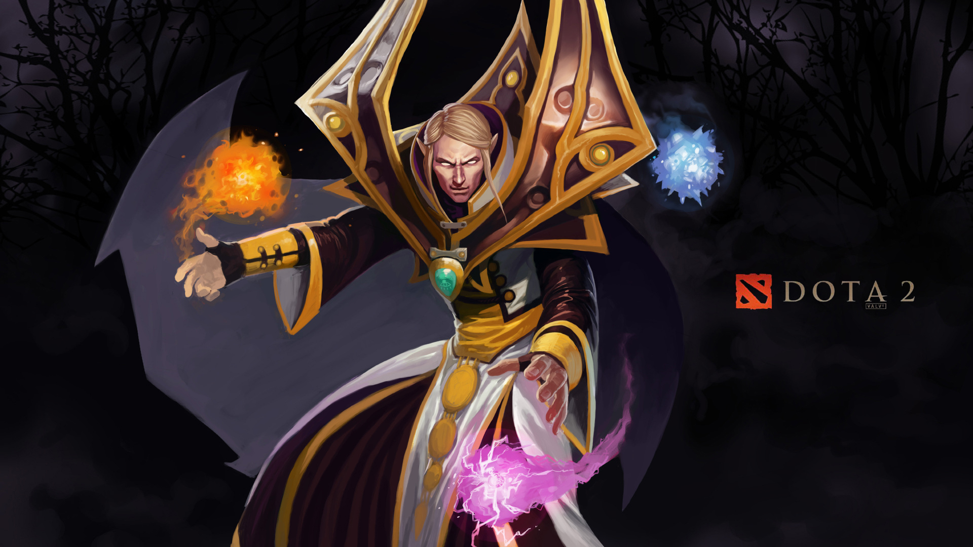 Dota 2 Invoker 1080p 0m Wallpaper HD