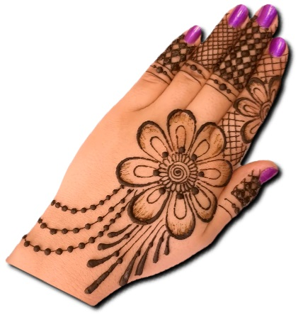 Beautiful Back Hand Mehndi Designs