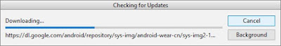 check for updates android studio