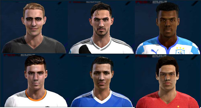 Facepack Update PES 2013