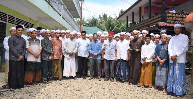 Tim Monitoring Dinas Pendidikan Dayah Aceh Adakan Evaluasi Kelas Bahasa di Mabna Lughah