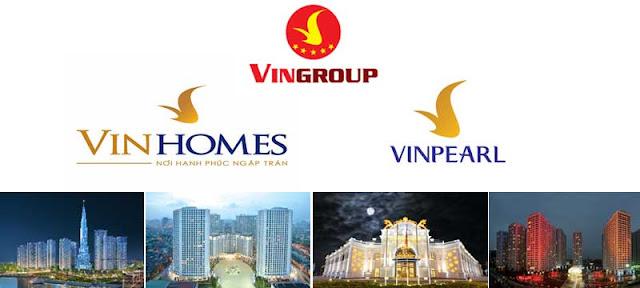 Ngoài VinCity, Vingroup còn nhiều thương hiệu khác