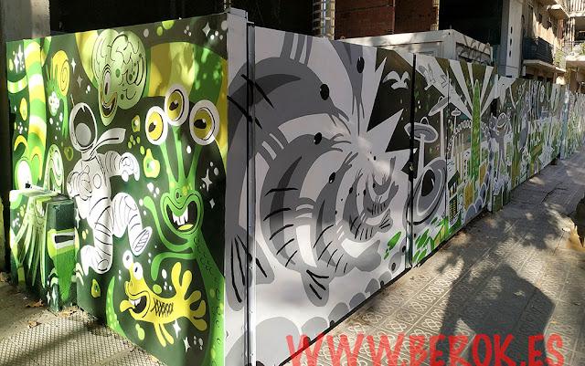 murales arte urbano calles Barcelona