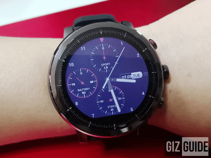 Amazfit Stratos GPS fitness smartwatch now available at Digital Walker Philippines