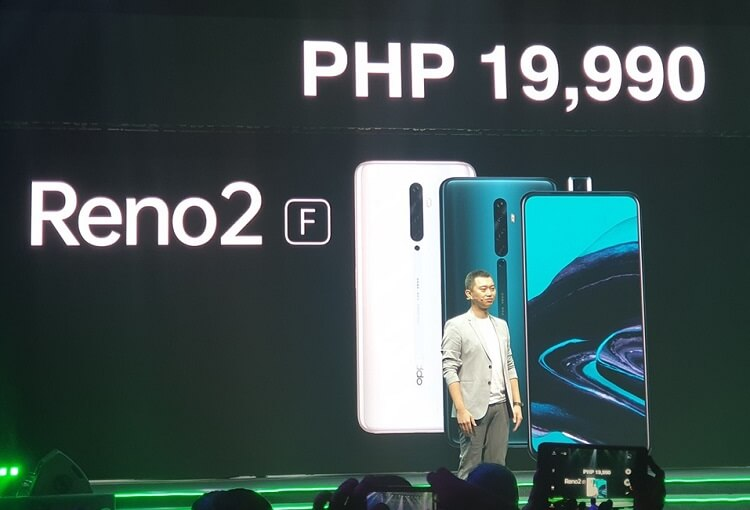 OPPO Reno2 F Lands in PH, Priced