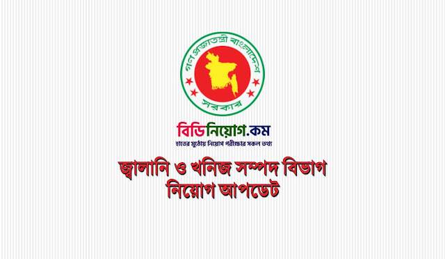 Energy and Mineral Resources Division (EMRD) Job Circular 2019 | Apply Process