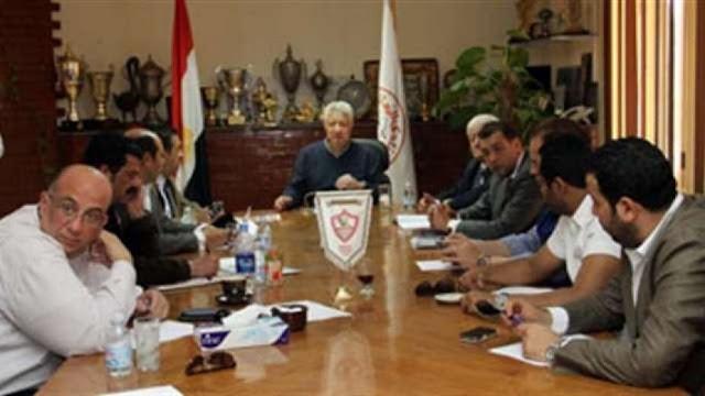 وزارة الشباب الرياضة توقف مجلس إدارة الزمالك وتشكيل لجنة مؤقته لإدارة نادي الزمالك