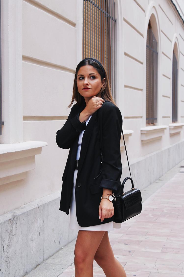 look elegante con diadema otoño blog de moda