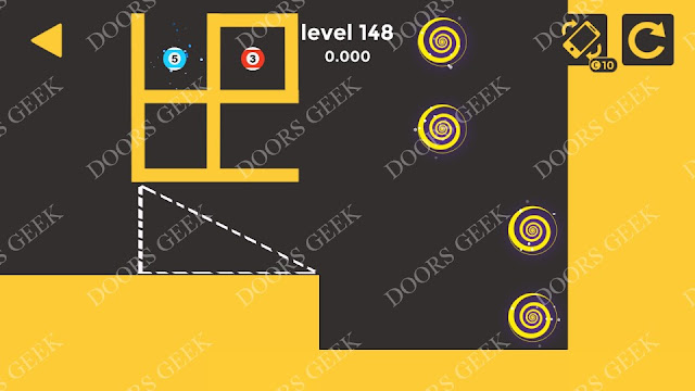 Ball & Ball Level 148 Solution, Walkthrough, Cheats for android and ios