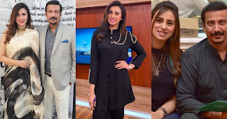 Beautiful Pictures of Madiha Naqvi And Faisal Sabzwari
