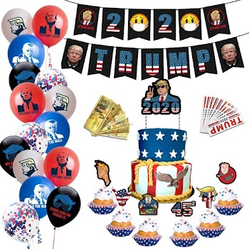 50%OFF Trump 2020 Party  Decorations