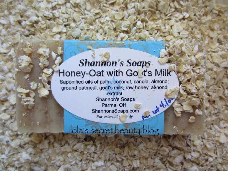 lola's secret beauty blog: Shannon's Soaps Honey-Oat with ...