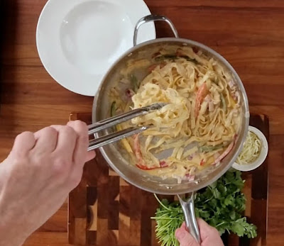 Rattlesnake Pasta Recipe