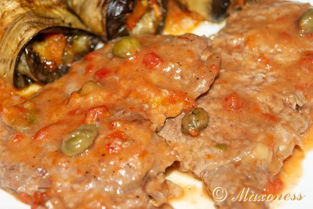 Бифштекс по-сицилийски. Итальянская кухня