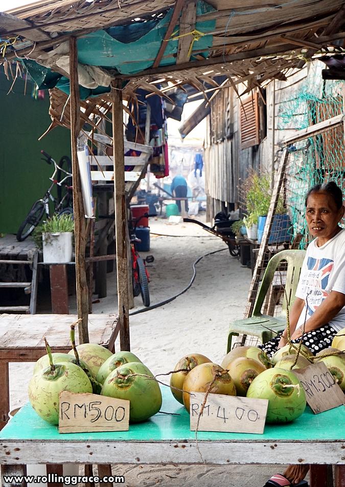 Bajau Laut community sabah