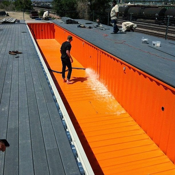 The Pool Guy Store Blog: shipping container pool cost